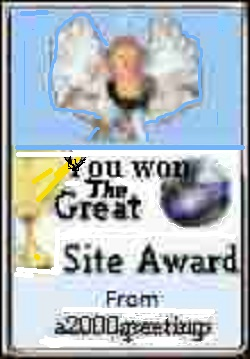 a2000greetings Website Award